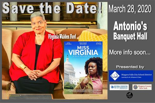Virginia Walden Ford Save the Date