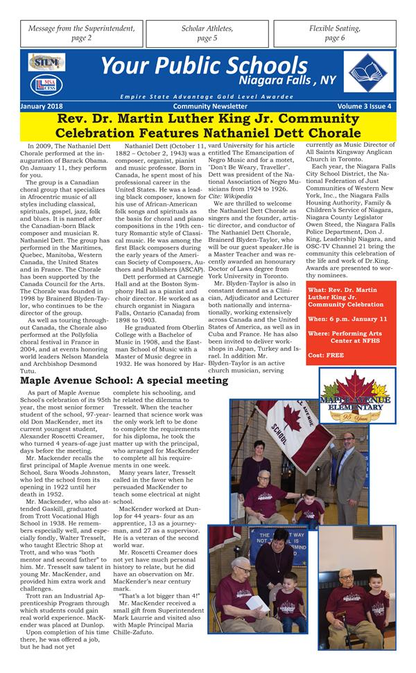 Your Public Schools Newsletter
