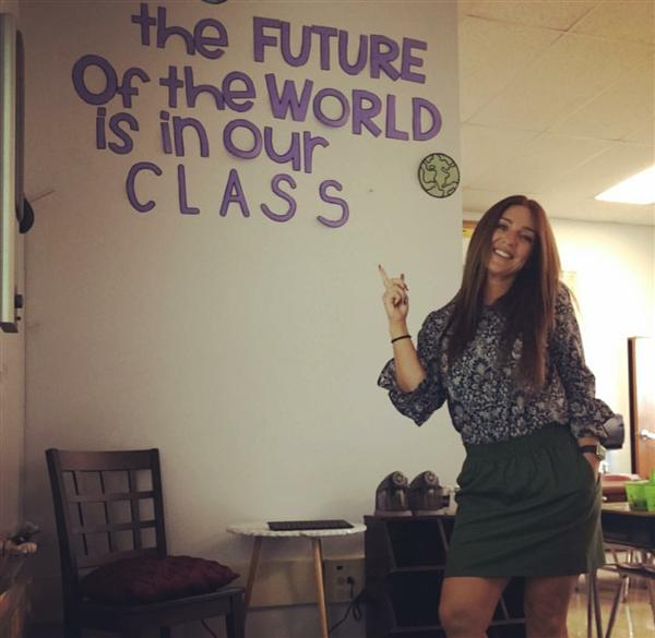 The Future of the World is in our Class