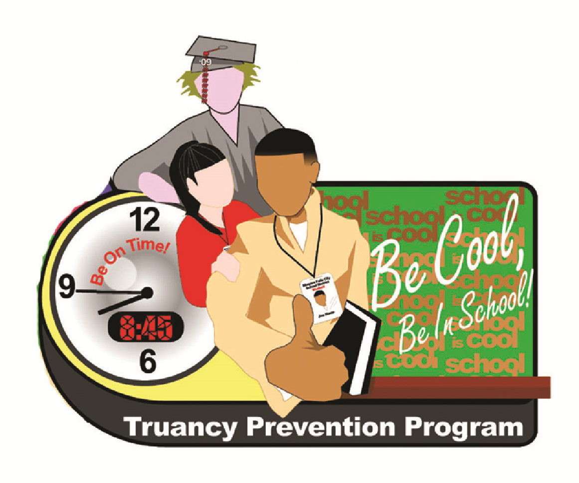 Be Cool Be In School logo