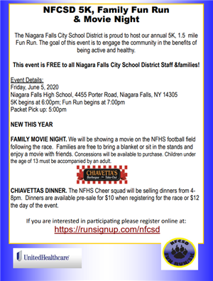 Fun Run Information