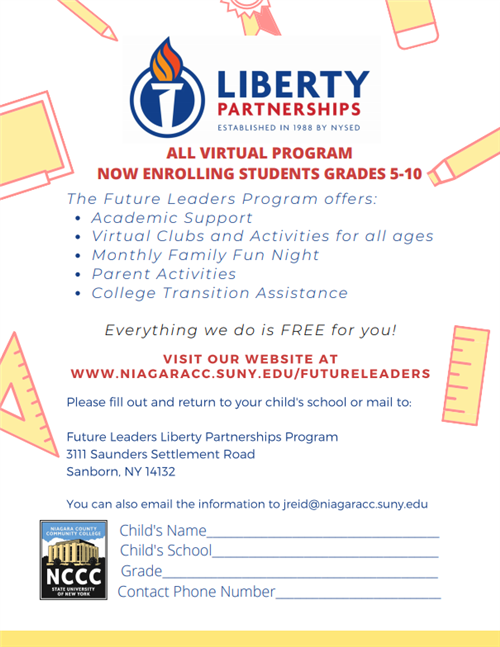 Liberty sign up form