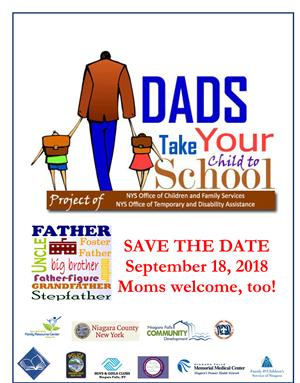 Dads Take Your Child To School Day September 18