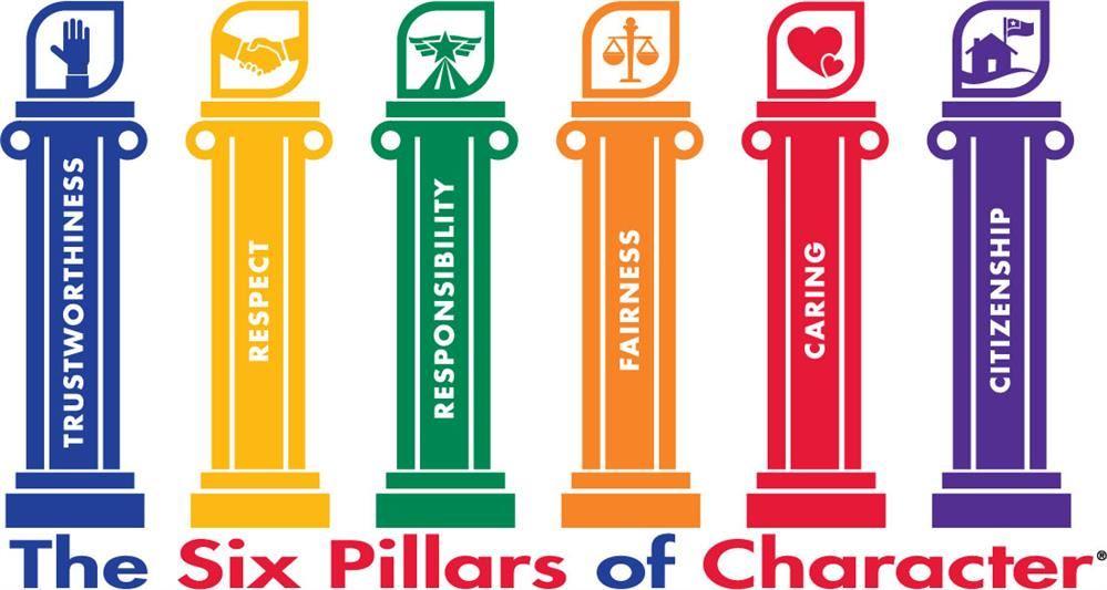 Character 6 pillars