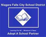 Adopt A School sign